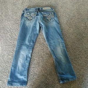 Rock Revival Jeans - Rock Rival Crop Jeans